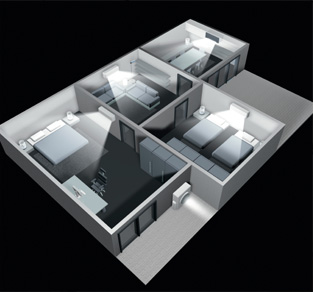 air conditioning floor plan