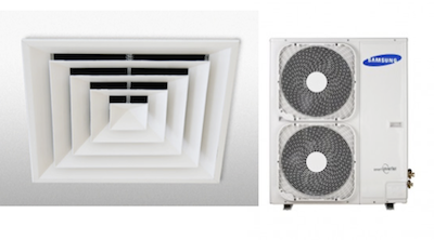 air con vent and ducted system photo