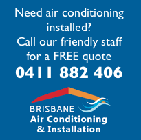 brisbane air con installation phone logo click to call
